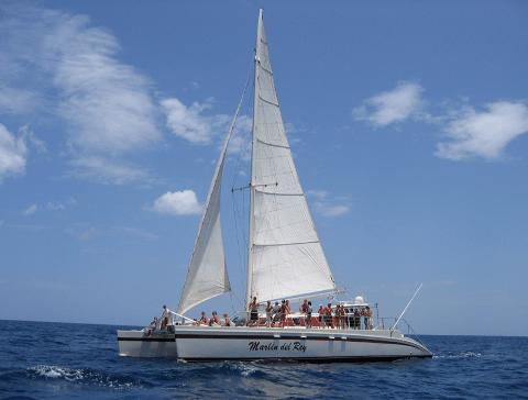 CatamaranAdventureCocoFlamingoBoat