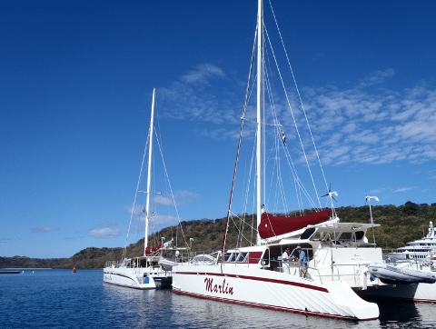 CatamaranAdventureCocoFlamingoTour
