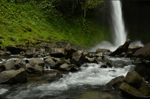 Fortuna Waterfalls horseback